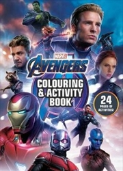 Avengers 4 Colouring & Activity Book