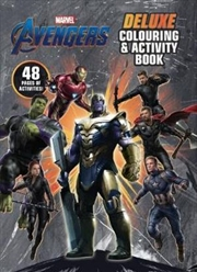 Avengers 4: Deluxe Colour & Activity | Paperback Book