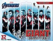 Avengers 4 Giant Activity Pad