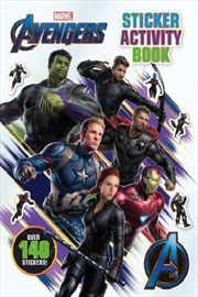 Avengers 4: Sticker Activity Book | Paperback Book