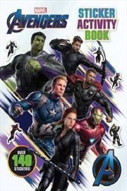 Avengers 4 Sticker Activity Book