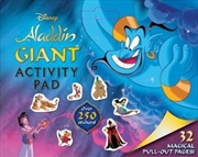 Disney Aladdin: Giant Activity Pad | Paperback Book