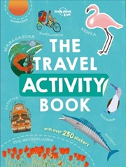 Travel Activity Book | Paperback Book