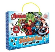 Marvel Avengers: Sticker Activity Case | Hardback Book