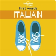First Word Board Book Italian