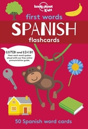 First Word Flashcards Spanish