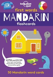 First Word Flashcards Mandarin