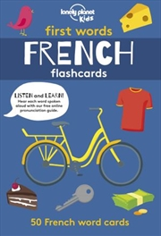 First Word Flashcards French