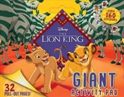 Lion King Giant Activity Pad | Paperback Book