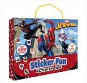 Spider-Man: Sticker Activity Case | Paperback Book