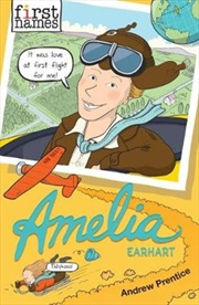 First Names - Amelia Earhart | Paperback Book