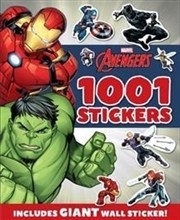 Marvel Avengers: 1001 Stickers | Paperback Book