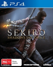 Sekiro Shadows Die Twice | PlayStation 4