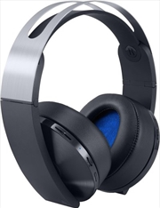 Sony Wireless Stereo Headset Platinum | PlayStation 4