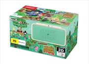 Nintendo 2DSXL New Leaf Animal Crossing Edition