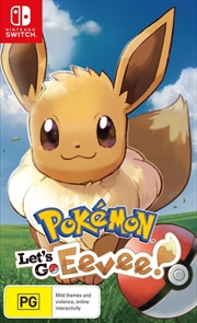 Pokemon Lets Go Eevee | Nintendo Switch