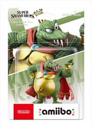 Nintendo King K. Rool amiibo (Super Smash Bros. Collection)