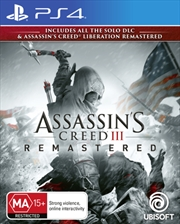Assassins Creed 3 Remastered | PlayStation 4