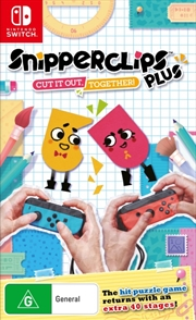 SnipperClips Plus Cut it out Together | Nintendo Switch