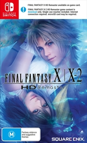 Final Fantasy X / X-2 HD Remaster | Nintendo Switch
