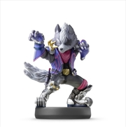 Nintendo Amiibo Wolf (Super Smash Bros. Collection) | Accessories