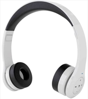 Ronin Unplugged Bluetooth White Headphones