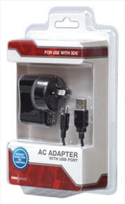Powerwave 3ds Ac Adapter Usb | Accessories