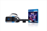 PlayStation VR with Camera and VR Worlds | PlayStation 4