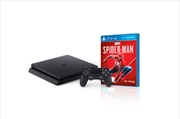 PlayStation 4 Console 1TB Slim With Spiderman