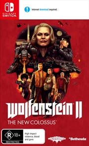 Wolfenstein 2 The New Colossus | Nintendo Switch