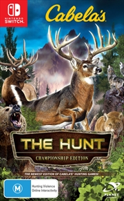 Cabelas The Hunt