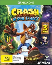 Crash Bandicoot Nsane Trilogy | XBox One