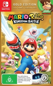 Mario And Rabbids Kingdom Battle Gold Edition | Nintendo Switch