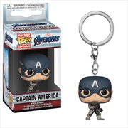 Avengers 4 - Captain America Pop! Keychain | Pop Vinyl