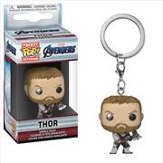 Avengers 4 - Thor Pop! Keychain | Pop Vinyl