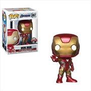 Avengers 4 - Iron Man Pop! RS | Pop Vinyl