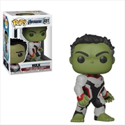 Avengers 4 - Hulk (Team Suit) Pop!