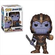 Avengers 4 - Thanos Pop! | Pop Vinyl