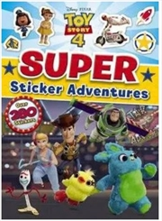 Toy Story 4 : Super Sticker Adventures | Paperback Book