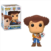 Toy Story 4 - Woody w/Forky Pop! RS | Pop Vinyl