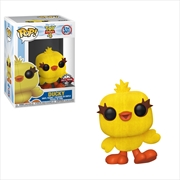 Toy Story 4 - Ducky Flocked Pop! RS | Pop Vinyl