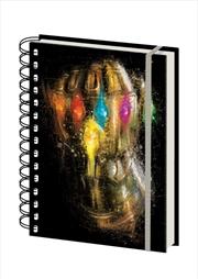 Avengers: Endgame - Infinity Gauntlet Notebook | Merchandise
