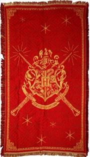 Harry Potter - Hogwarts Logo Throw Rug (92x147cm)