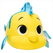 "Little Mermaid - Flounder 12"" US Exclusive SuperCute Plush [RS]"