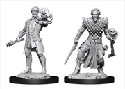 Dungeons & Dragons - Nolzur's Marvelous Unpainted Minis: Male Human Warlock | Games