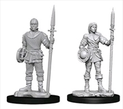 Wizkids - Deep Cuts Unpainted Miniatures: Guards | Games