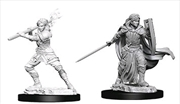 Dungeons & Dragons - Nolzur's Marvelous Unpainted Minis: Female Human Paladin | Games