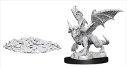 Dungeons & Dragons - Nolzur's Marvelous Unpainted Minis: Blue Dragon Wyrmling | Games