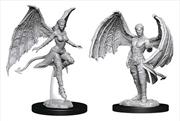 Dungeons & Dragons - Nolzur's Marvelous Unpainted Minis: Succubus & Incubus