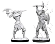 Dungeons & Dragons - Nolzur's Marvelous Unpainted Minis: Female Goliath Barbarian | Games